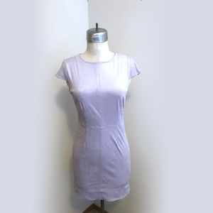 Kensie Fitted short lilac dress